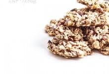 Cookies aux céréales et amandes